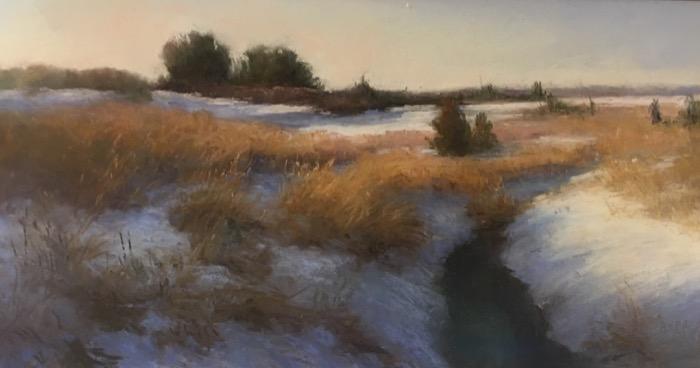 Rupp Winter Marsh pastel