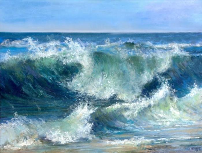 Schireimer Big Wave pastel