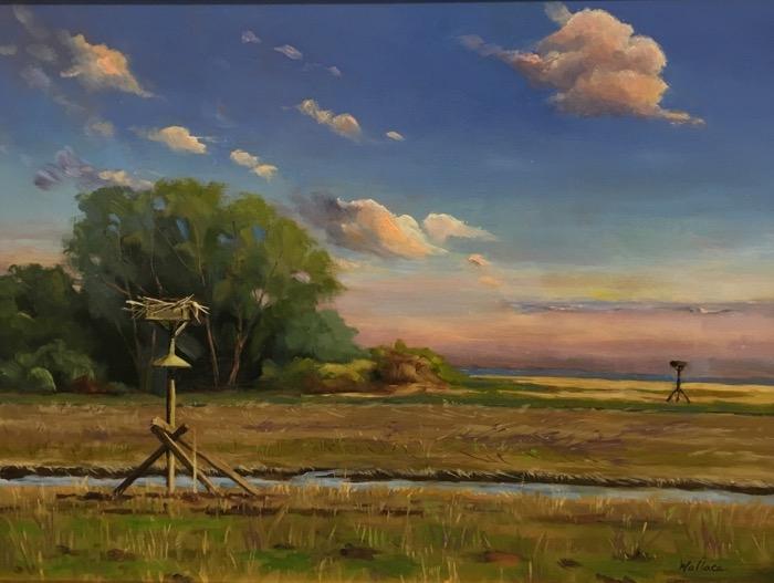 Wallace Osprey Nest oil