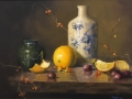 Wallace Still Life with Oranges oil