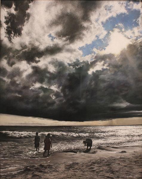 Linde Steve august by the beach