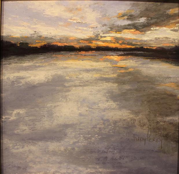 perry Judy sunrise on plum bank marsh