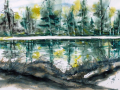 66. Susan Seseske Wolanic %22Spring Landscape%22 $ 325