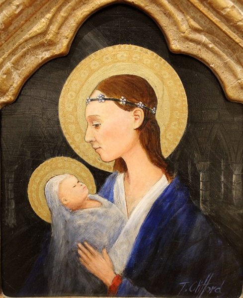 Clifford Tom Blue Madonna