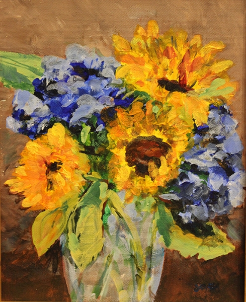 Rea Janet Shea Late Summer Bouquet