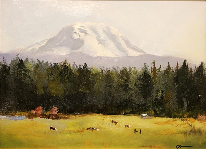 Sorensen Cheryl Purple Mountain Majesty Mt Ranier