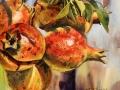 Chapin JoAnna Golden Pomegranates