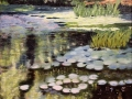 Emery Paula Waterlilies on a Mill Pond