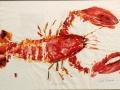 Erdman Carole Lobster Gyotaku
