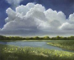 """Patt Baldino, """"Summertime"""", oil, 8x10, $750"""