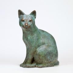 """Serena Bates, """"ZhenZhen"""", bronze, 11x6x14.5, $3,800"""