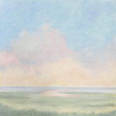 "Pamela Carlson, ""Pastel Summer Day"", acrylic, 24x24, $680"