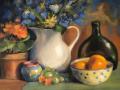 SchirmeierBeverly Schirmeier, Irises in Bloom. pastel, 12x16 850