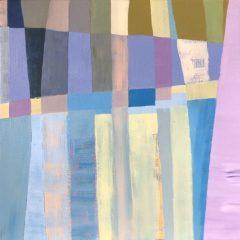 """Teri Banas, """"Color Field #2"""", Acrylic, 14x14, $500"""