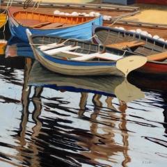 "Kimberley Scoble, ""Trio"", oil, 24x24, $2,000"