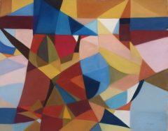 "Patricia Trapp, ""Hidden Figures"", Pastel, 16x20, $675"