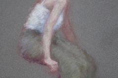 "Joann Ballinger, ""Grace"", Pastel, 6x8, $1,200"