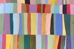 """Teri Banas, """"Color Field #1"""", Acrylic, 14x14, $500"""