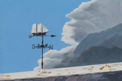 "William Burnham, ""Storm's-a-Brewin'"", Acrylic, 9x12, $625"
