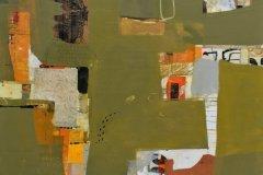 "Deborah T. Colter, ""All Who Wander"", mixed media, 40x40, $4,800"