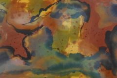 """Rosemary Cotnoir, """"Components of a Western Sky"""", Acrylic, 20x48, $1,800"""