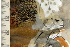 "Carol Dunn, ""Finding My Way"", Mixed Media, 14x12, $150"