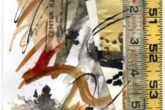 """Carol Dunn, """"Losing My Way"""", Mixed Media, 14x12, $150"""
