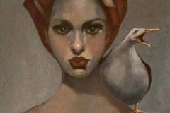 "Andrea Fenn, ""Freedom"", Oil, 16x20, $600"