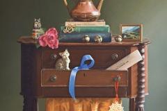 "Barbara Groff, ""My Favorite Things"", pastel, 20x20, $6,000"