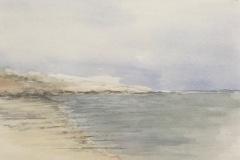 "Barbara Harvey, ""Waterford Beach"", watercolor, , $250"