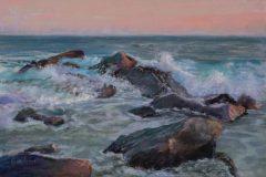 "Karen Israel, ""Rhythm and Blues"", pastel, 12x18, $1,350"