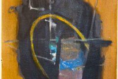 "Carolyn Hagy Kent, ""Field of Flags"", Acrylic on Paper, 16x20, $285"