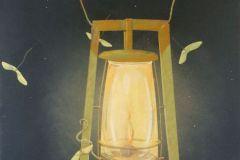 "Earl Grenville Killeen, ""Moonlight"", watercolor, , $1,800"