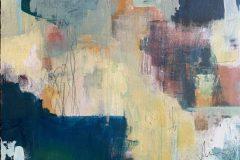 "Crystal MacLean, ""Excavation"", Acrylic, 12x12, $348"