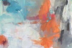 "Crystal MacLean, ""The Breakthrough"", Acrylic/Mixed Media, 24x24, $1,200"