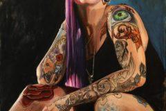 """Brian McClear, """"Joelle"""", Oil on Canvas, 40x30, $3,800"""