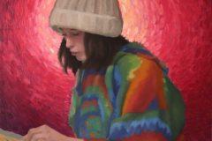 "T. Whitney Prentice, ""Little World. By Whitney Prentice and Miranda Warzel"", Oil on canvas, 19x16, $1,100"