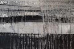 "Dennis Sirrine, ""Threads"", oil/canvas, 18x36, $2,500"