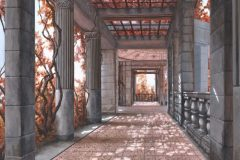 "Len Swec, ""Harkness Passage"", acrylic, 12x16, $1,700"