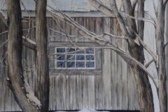 """Jennifer Tassmer, """"Weathered by Time"""", watercolor, 16x20, $625"""