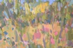 """Jane Zisk, """"Garden"""", acrylic, 16x20, $400"""