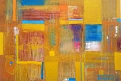 """Dennis Sirrine, """"Mad About Saffron"""", oil/canvas, 36x48, $6,500"""