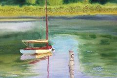 McGeeLizCatBoatwatercolor