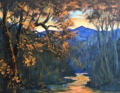"""Dianne Gorrick, """"Killington Mountain, Vermont"""", oil, 8x10, $350"""