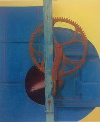 "Earl Grenville Killeen, ""Wheat Thresher"", watercolor, 20x25, $3,600"