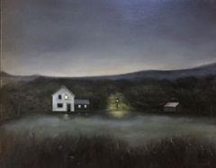 """Lisa Linehan, """"Morning Mist"""", oil, 16x20, $1,200"""