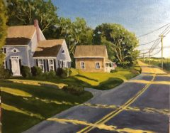 "Neil Ruenzel, ""Afternoon Sun"", oil, 16x20, $475"
