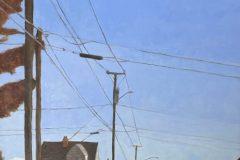 """Debbi Goodman, """"September Solitude"""", oil, 24x36, $1,200"""