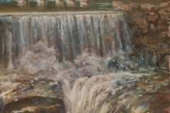 "Sharon Jordan Bahosh, ""Signs of Spring"", oil, 16x20, $2,200"