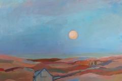 "Sara Drought Nebel, ""Dreamscape 3"", acrylic, 20x24,"